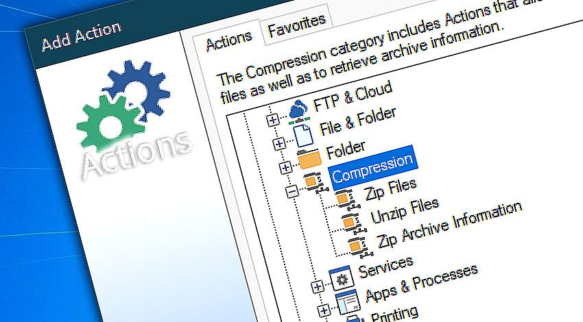 Automatic file compression