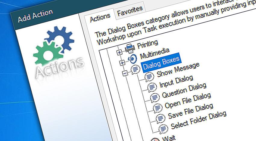 Advanced Dialog boxes