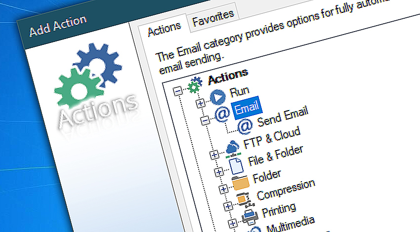 Advanced Send email automation