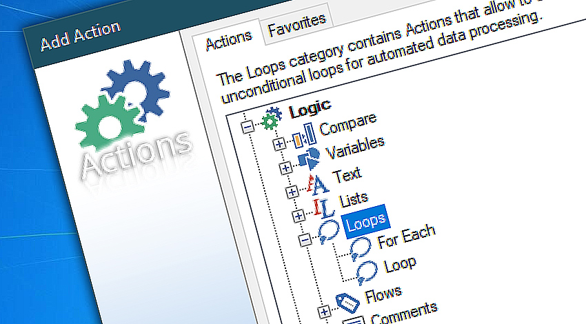 Advanced loop management